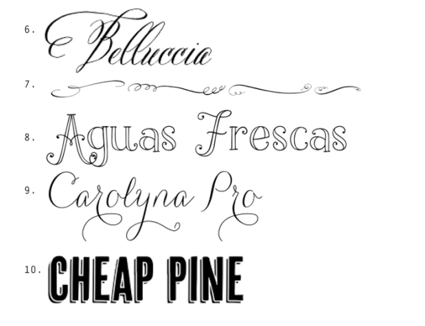 carla david design top fonts2