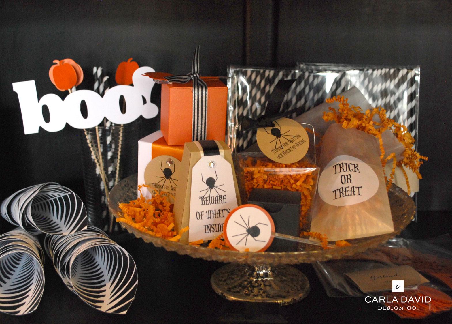 sbootacular halloween party goods | carla david blog