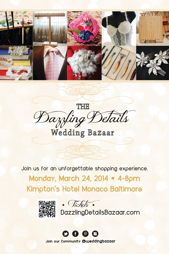 Dazzling Details Wedding Bazaar - March 24, 2014